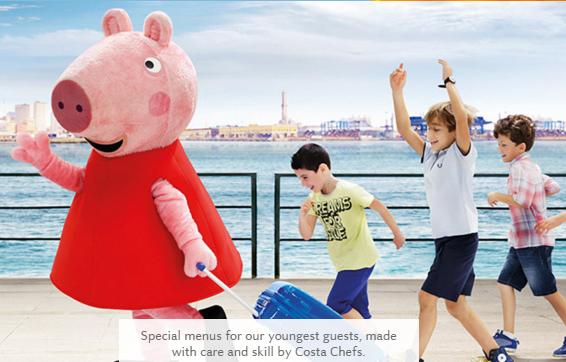Программы для детей на лайнерах Costa Cruises