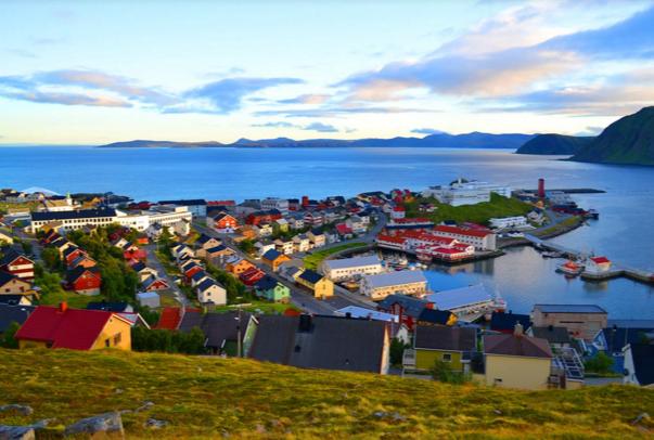 Норвегия, Honningsvag