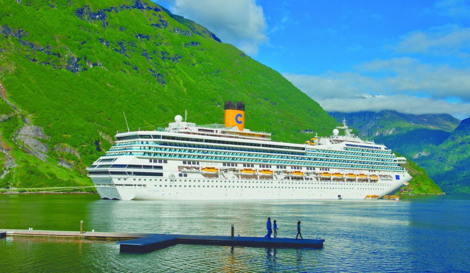 Costa Cruises. Круиз по Норвежским фьордам. Норвежские фьорды