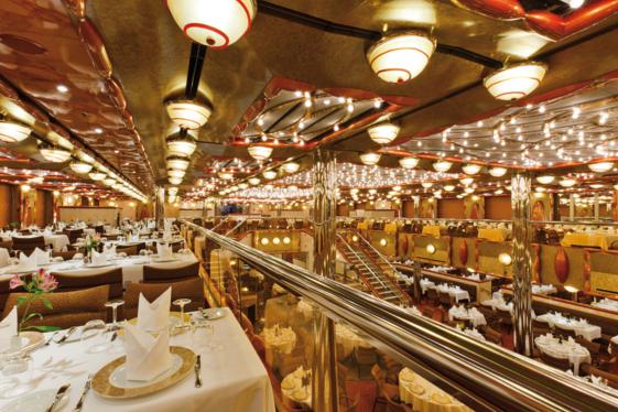 Питание в ресторане Costa Cruises