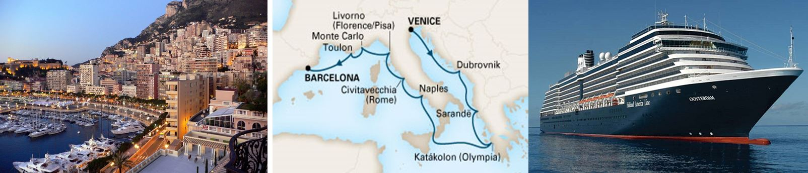 Круиз Средиземноморье и Адриатика: из Венеции в Барселону