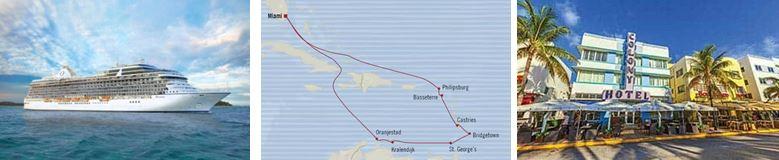 Круиз «США и Карибские острова из Майами»