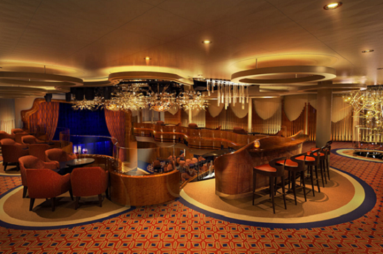 Queen's Lounge лайнер Koningsdam