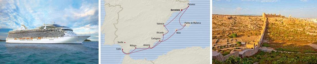 Открытие Испании из Барселоны