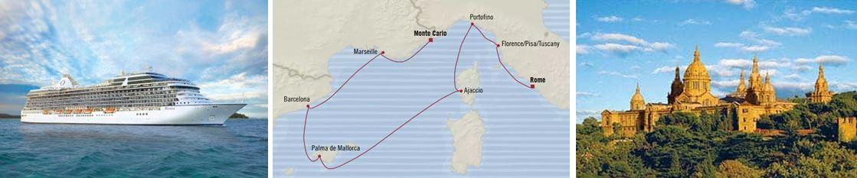 Круиз «Западное Средиземноморье: Рим - Монте-Карло»
