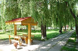 Миргород санаторий ПСЕЛ, територия