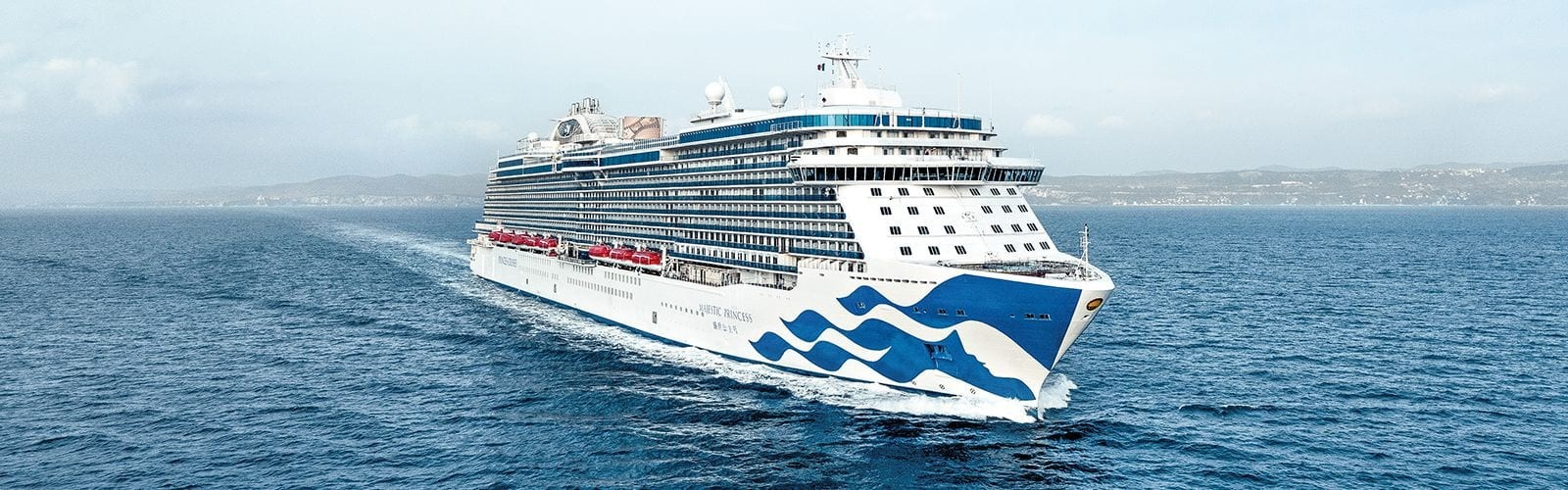 Лайнер Majestic Princess в водах Австралии